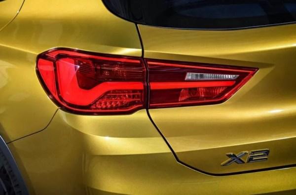 BMW 2 Series X2 SUV Rear Tail lights 1