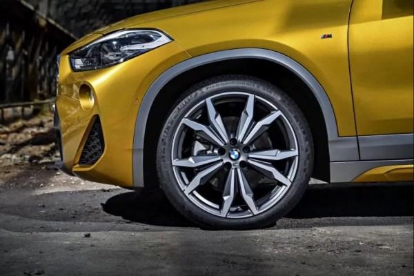 BMW 2 Series X2 SUV wheels view 1