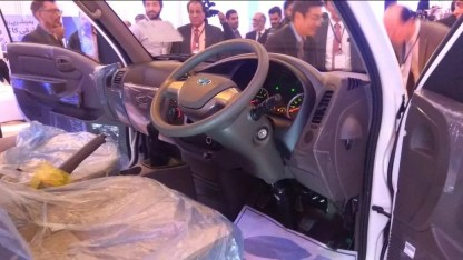 2020 Hyundai Porter H 100 steering wheel and information cluster