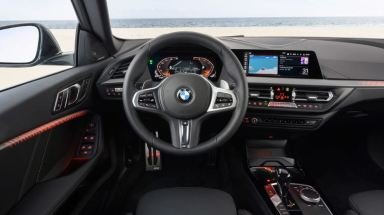BMW 2 Series Gran Coupe 1st Generation front cabin interior