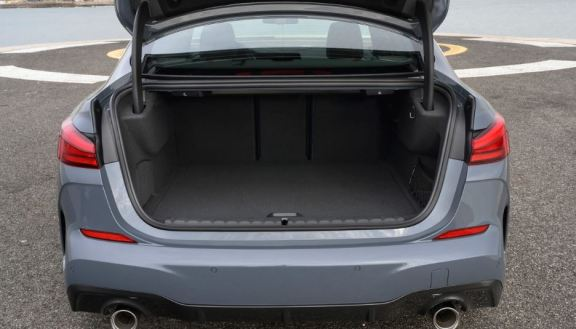 BMW 2 Series Gran Coupe 1st Generation trunk space