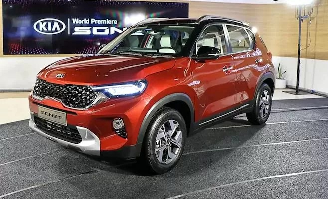 Kia Sonet another Record breaking vehicle by South Korean Brand in India