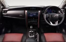 Toyota Fortuner TRD celebrity edition dual tone interior india