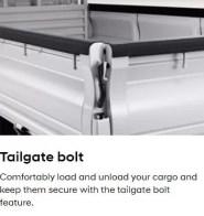 4th Generation Hyundai Porter H 100 Pickup Truck tail gate bolt