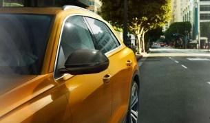 1st generation Audi Q8 SUV elegant side profile