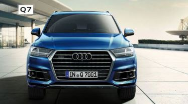2nd Generation audi Q7 SUV front view