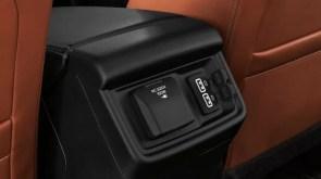 2nd generation Isuzu Mux suv rear charging ports