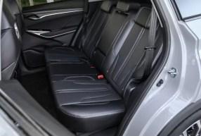2nd generation cs75 suv Rear seats view