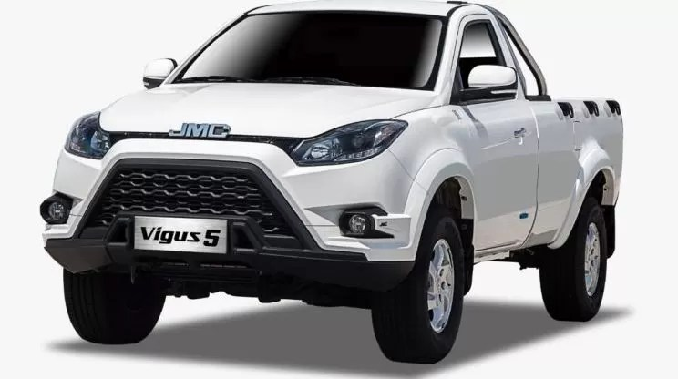 2nd generation jmc vigus 5 pickup truck feature image
