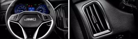 2nd generation jmc vigus 5 pickup truck steering wheel and transmission