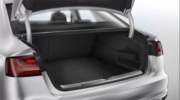 4th generation Audi A6 S6 sedan luggage view