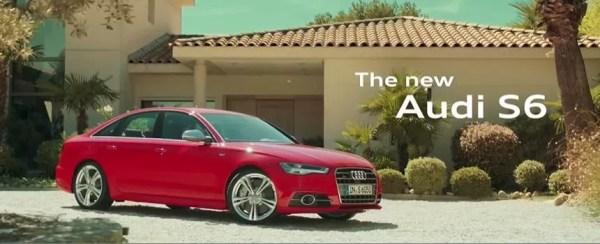 4th generation Audi A6 S6 sedan red title image