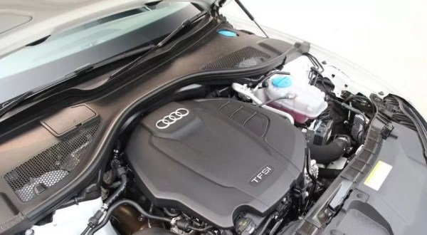 4th generation audi a6 s6 saloon engine view