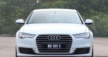 4th generation audi a6 s6 saloon white front view