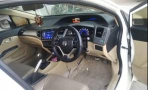 9th generation honda civic rebirth front cabin interior view