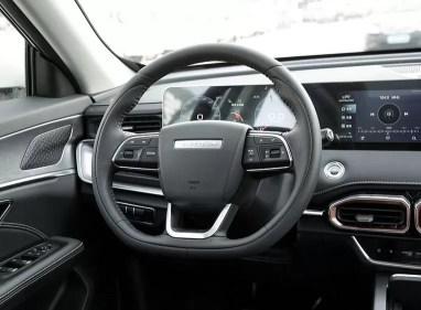 2nd Generation Jetour X70 Plus steering wheel close view