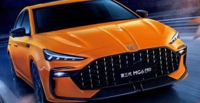3rd generation mg6 pro sedan feature image