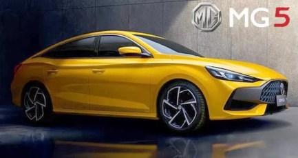 2nd generation MG 5 Sedan title image