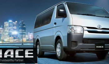 6th generation Toyota hiace van feature image