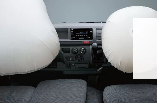 6th generation Toyota hiace van safety airbags