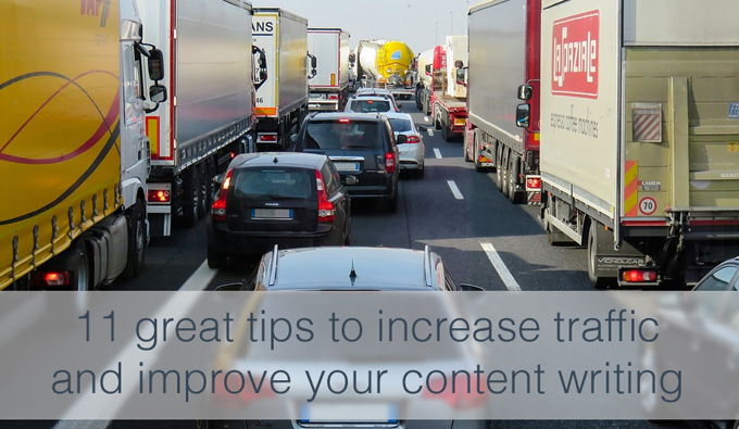 increase traffic and improve content writing