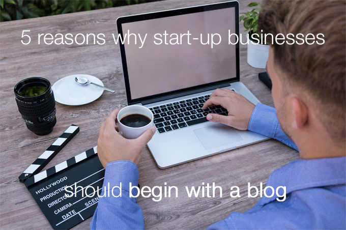 begin with a blog