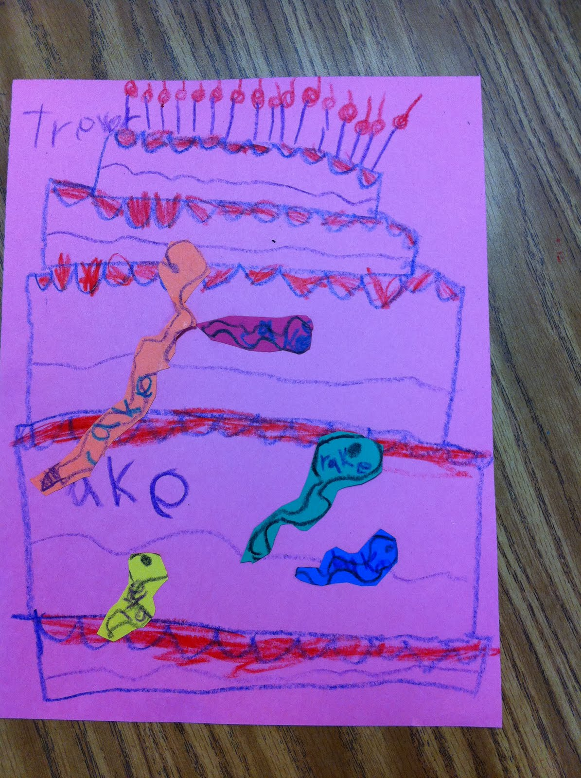 Snakes On My Cake The Quot Ake Quot Word Family Fairy Dust Teaching
