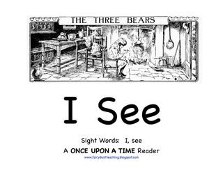 Free Emergent Readers for the Goldilocks and the 3 Bears