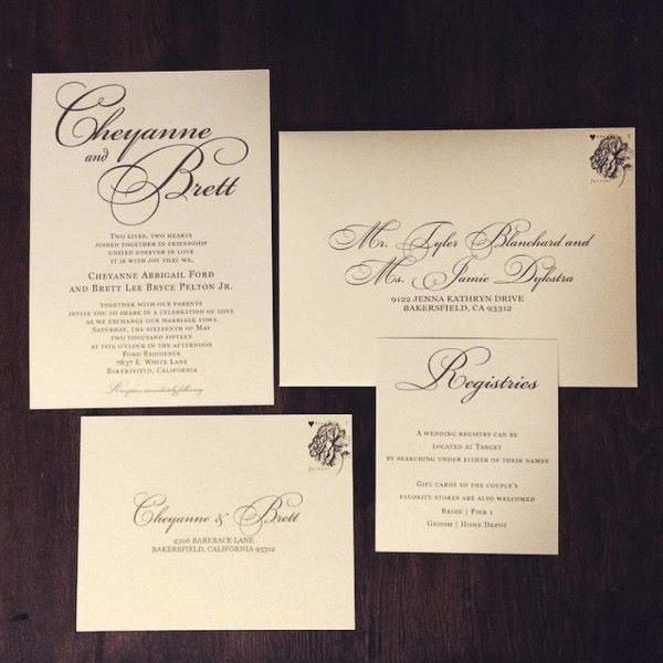Invitations Wedding Wednesday - You're One Week From Your Big Day. Now What? - Fairy Godmother