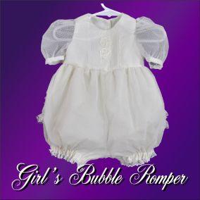 bubble romper