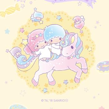 【LINE 官方主題下載】雙星仙子(粉彩甜點篇)