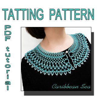 Collar Caribbean Sea pattern