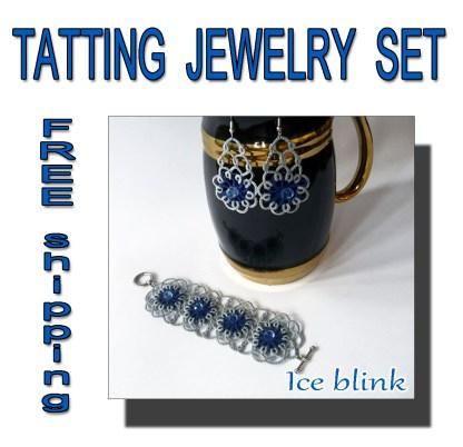 Ice blink jewelry set