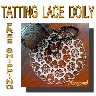 Lace doily Honeycomb