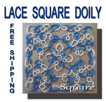 Multicolor doily Square