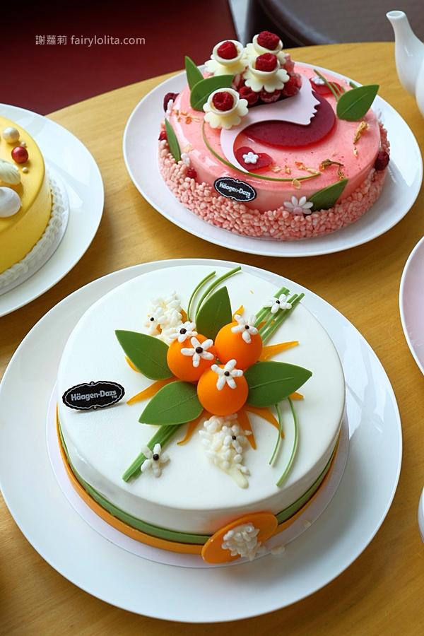 DSCF9489 - 熱血採訪 | 哈根達斯慶祝母親節!橙花以及茉莉花香冰淇淋蛋糕來囉~