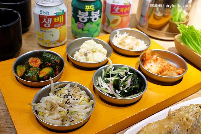 臺北美食   飯饌韓式料理餐廳(HOYII北車店) 반찬。這家海鮮煎餅也太好吃,還有無限量小菜讓你免費吃到飽 ...