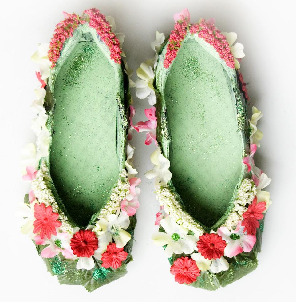 ballerine de féé fairy shoes -la fabricamania