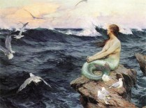 A Mermaid - Charles Murray Padday