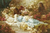 Sleeping Beauty - Hans Zatzka