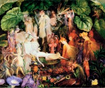 The Fairy's Funeral - John Anster Fitzgerald