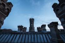Detalhe das torres.