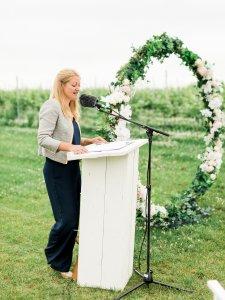 verhaal vertellen tijdens huwelijksviering