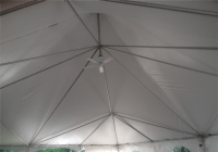 Tent Ceiling Fan & Starfish Tent