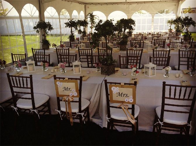 wedding tables and chairs for rent damask dining chair covers uk accessories table rentals dance floor dark sage taffeta sash