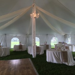 Chair Cover Rental Orland Park Espresso Leather Wedding Accessories Table Rentals Dance Floor Tent Kiting With Sting