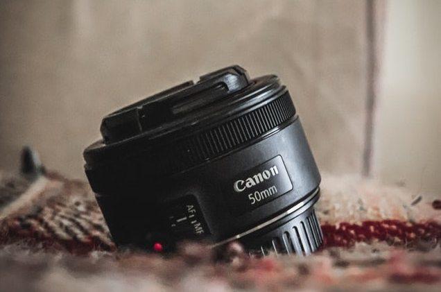 Unsplash objectif photo 50mm f/1.8