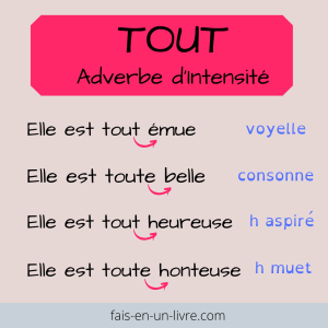 accord de tout adverbe d'intensite pour ne plus faire de fautes
