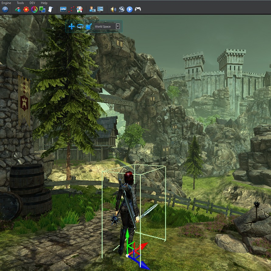 3D engine game