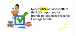Read more about the article Snapchat Provides Insights into How its Users Expect Brands to Approach Latin and Hispanic Heritage Month
